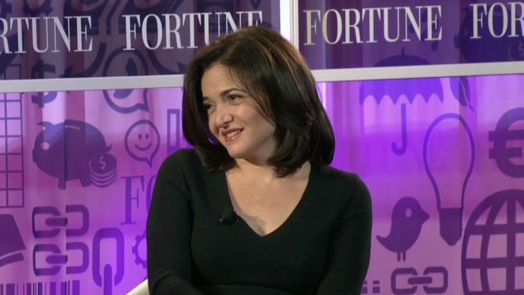 Sheryl Sandberg on women vs. men