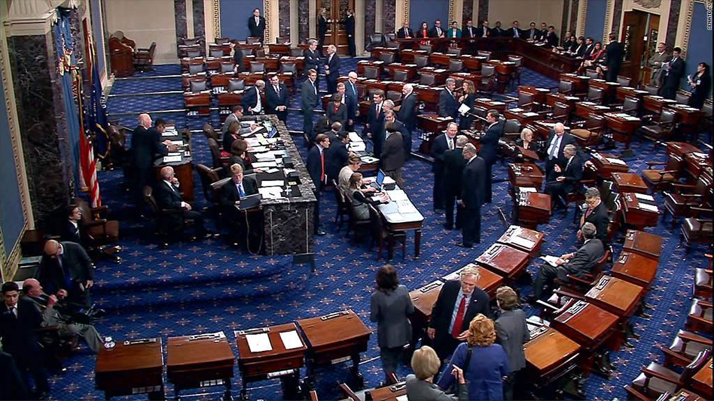 house floor shutdown vote