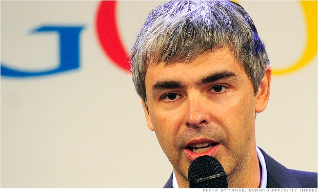google earnings larry page