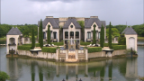 Inside a $13 million chateau with a moat