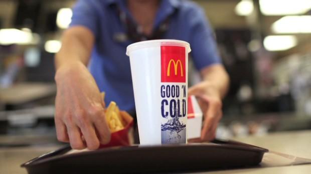 Investors not lovin' Mcdonald's