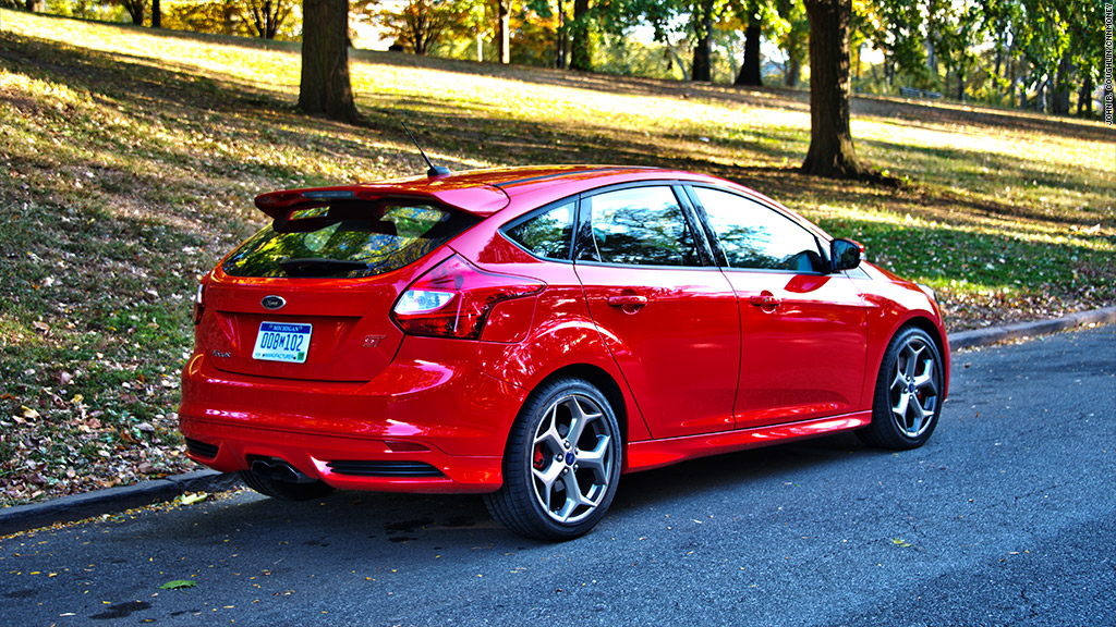 2014 ford focus st - 2014 Ford Focus St Red