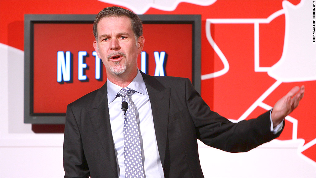 reed hastings netflix quarterly results