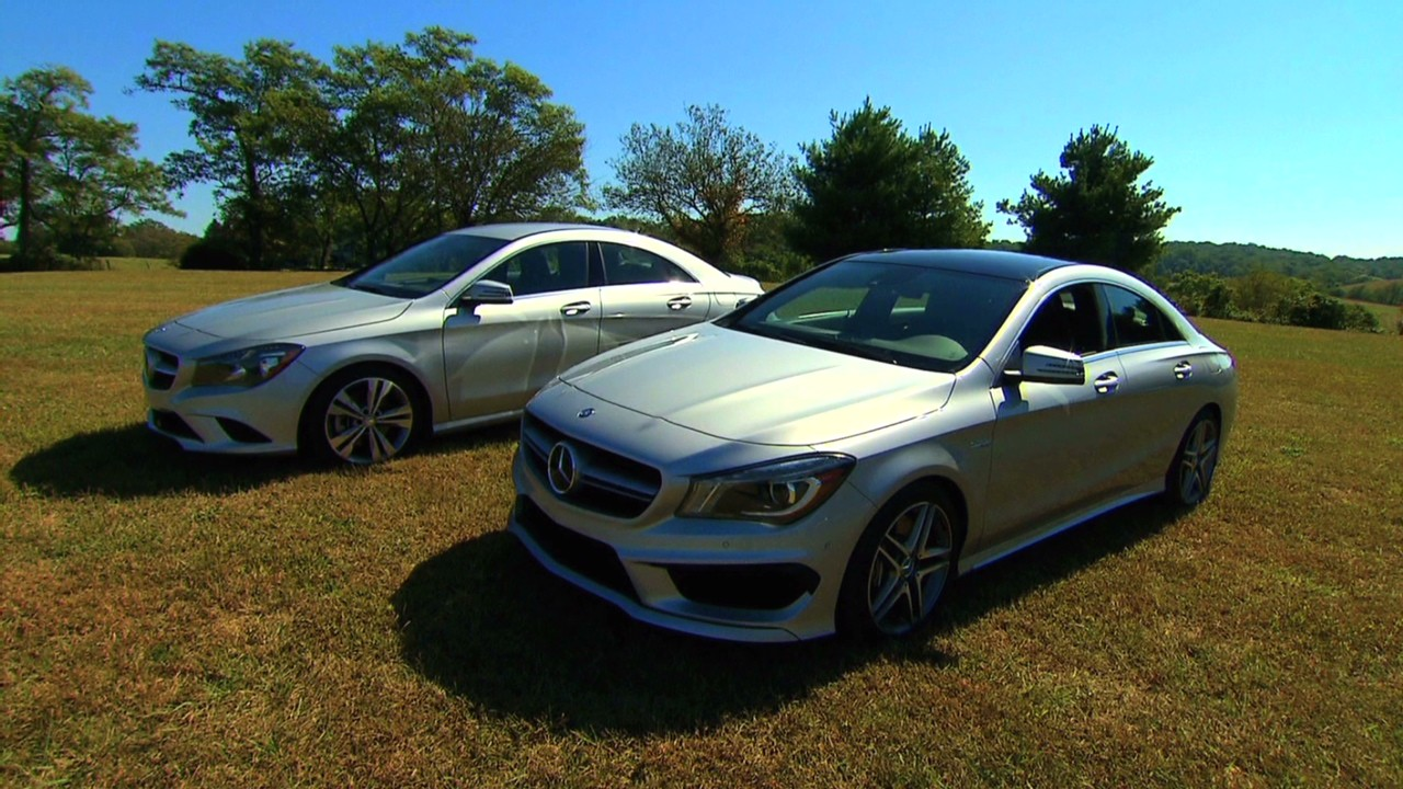 Mercedes Benzs CLA Affordable luxury  Video  Personal Finance