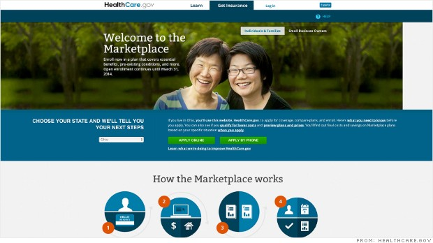 healthcare.gov site