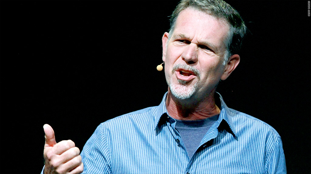 reed hastings stock