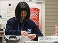 Postal jobs shrink government payrolls