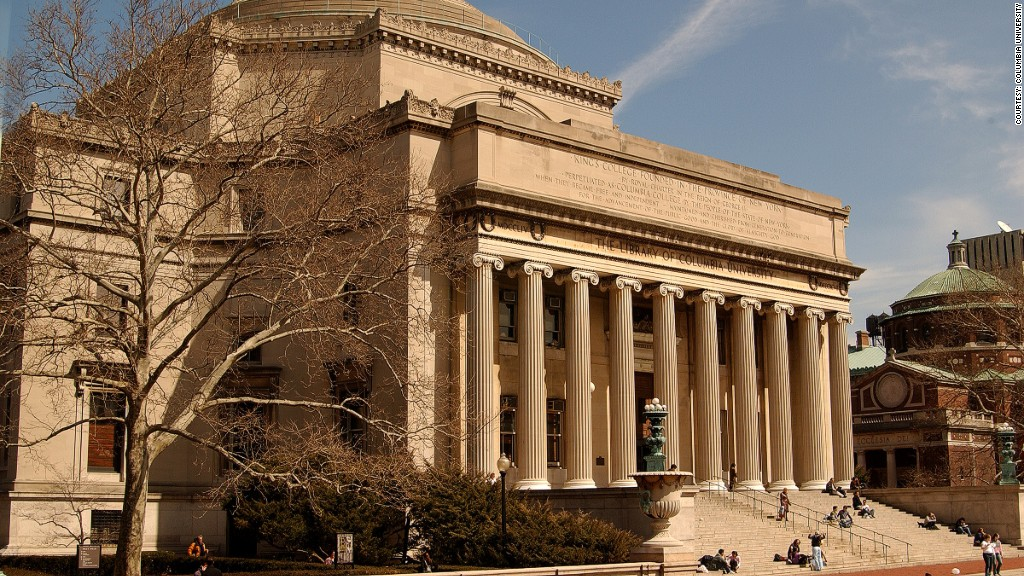 most expensive colleges columbia