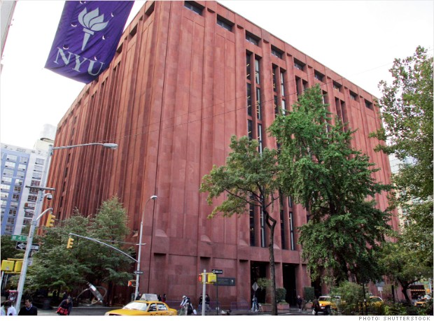 most expensive colleges nyu 2