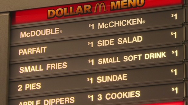 The end of mcdonald s dollar menu as we know it oct 24 2013
