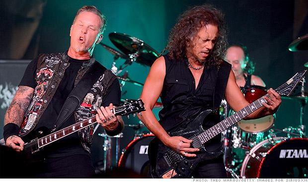 Metallica dará un concierto en la Antártida