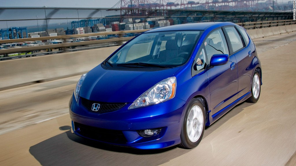 subcompact honda fit consumer reports most reliable cars cnnmoney. Black Bedroom Furniture Sets. Home Design Ideas
