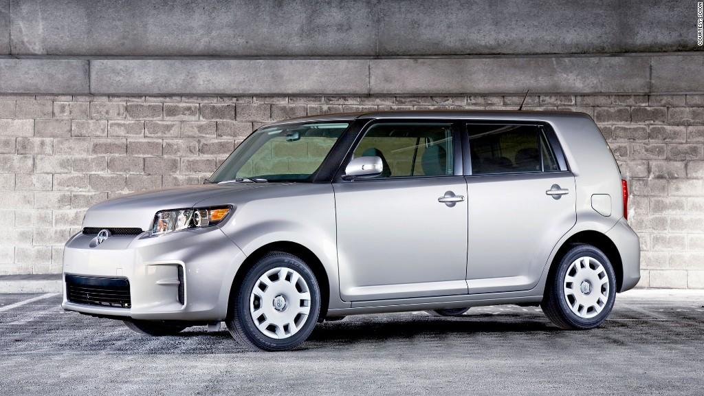 compact car scion xb consumer reports most reliable cars cnnmoney. Black Bedroom Furniture Sets. Home Design Ideas