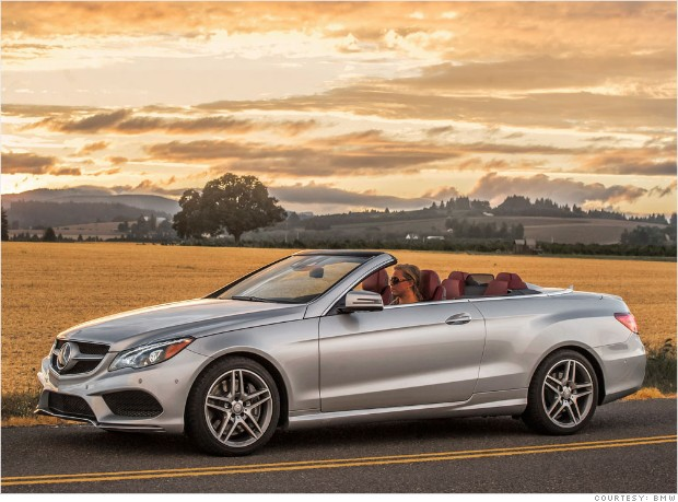 coupe convertible mercedes e class consumer reports most reliable cars cnnmoney. Black Bedroom Furniture Sets. Home Design Ideas