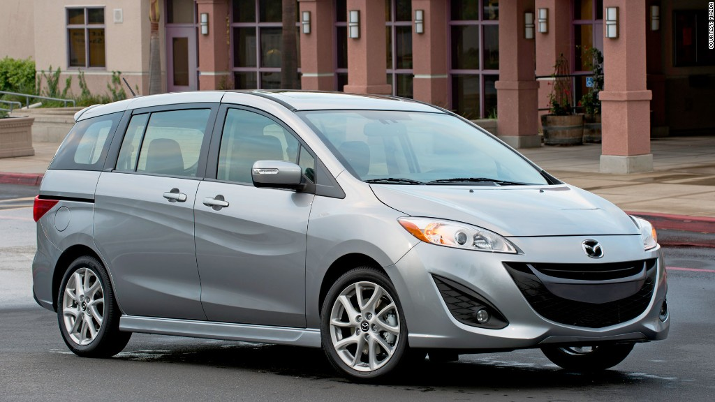 wagon mazda5 consumer reports most reliable cars cnnmoney. Black Bedroom Furniture Sets. Home Design Ideas