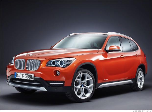 luxury  pact suv   bmw x1 4 cyl   consumer reports most reliable cars   cnnmoney