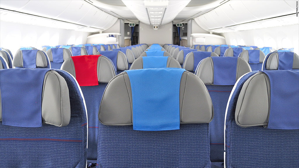 airbus 18 inch seat