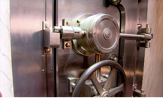 unique homes bank vault door
