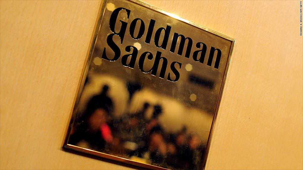 goldman sachs junior bankers