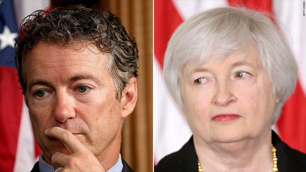 rand paul janet yellen