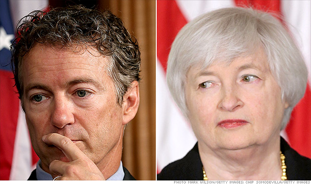 Rand Paul threatens to block Yellen nomination vote