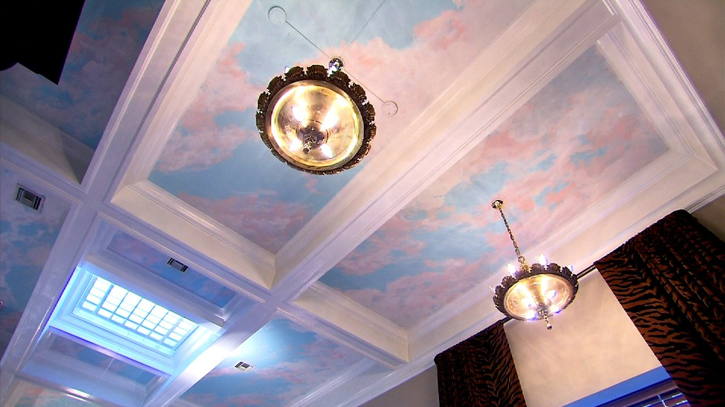 unique homes bank ceiling