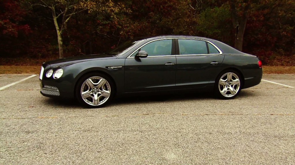 Bentley Flying Spur: 200 mph luxury