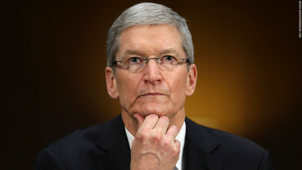 tim cook testifying