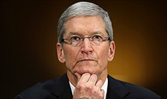 Tim Cook urges passage of gay rights bill