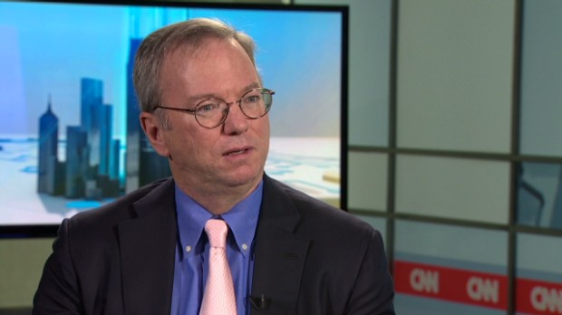 Google's Schmidt on NSA: 'I was shocked'