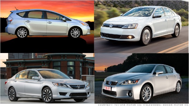 Which car has the best fuel economy?