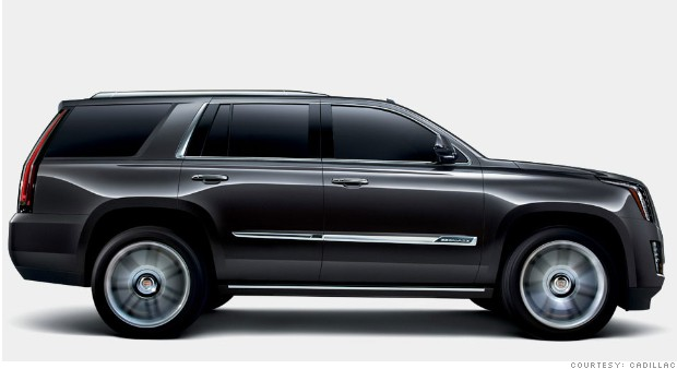 2015 Cadillac Escalade - Sneak preview: 10 new models for 2015 ...