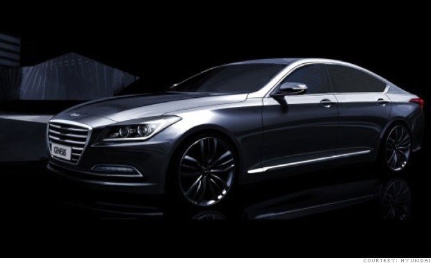 2015 Hyundai Genesis - Sneak preview: 10 new models for 2015 - FORTUNE