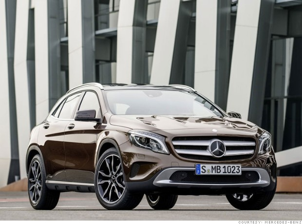 2015 Mercedes-Benz GLA - Sneak preview: 10 new models for 2015 ...