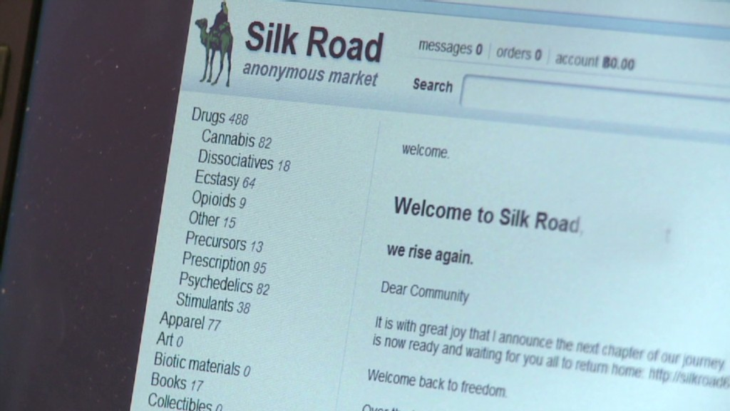 A look at rebuilt drug bazaar Silk Road