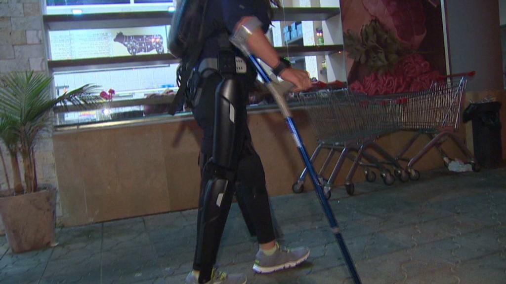 $70k robotics help paraplegics walk