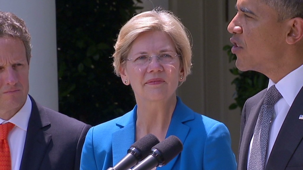 Elizabeth Warren for president in 2016?