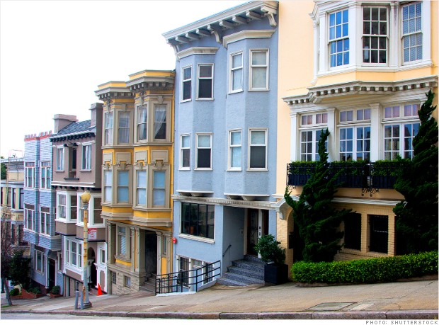 most least expensive san francisco california