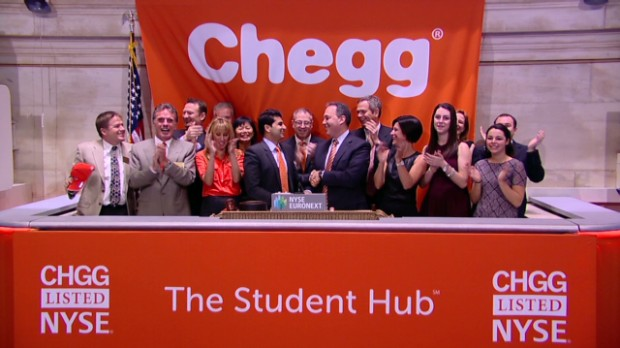 Chegg wants to transform textbooks
