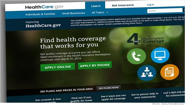 Menos de 27.000 personas se han inscrito en Obamacare a través del sitio web