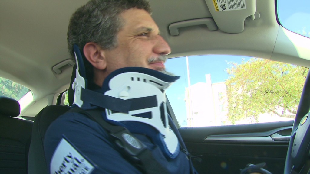 'Senior suit' simulates driving at age 90