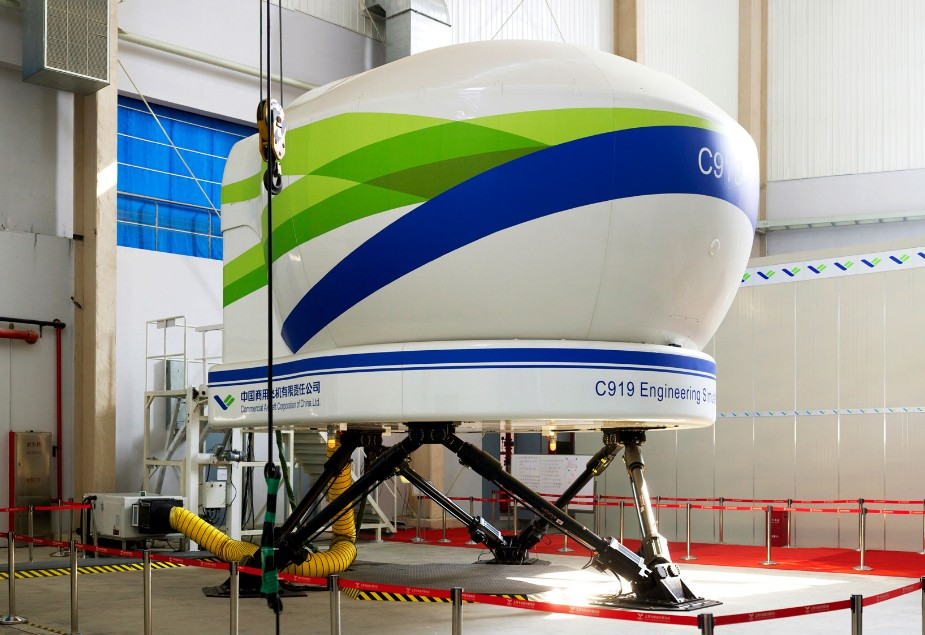comac c919 flight simulator