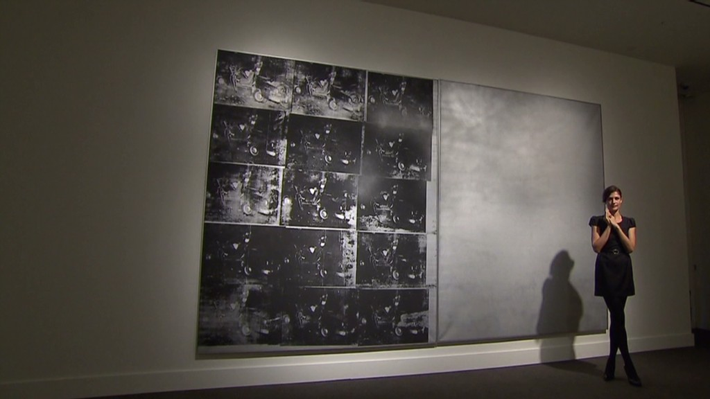 Why a Warhol sold for $105 million