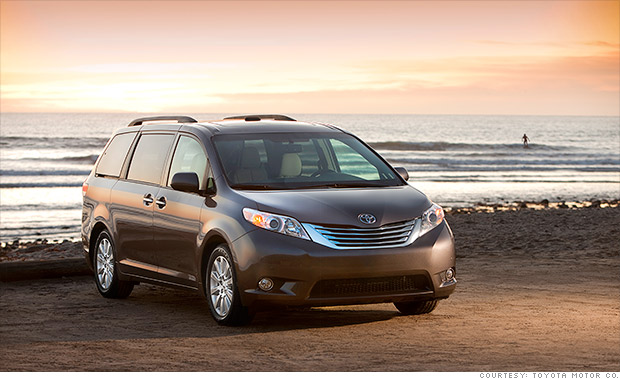 best resale value 2014 toyota sienna