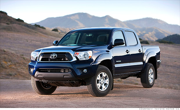 best resale value 2014 toyota tacoma