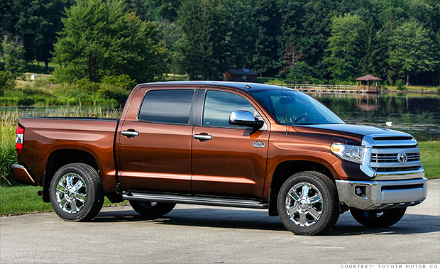 best resale value 2014 toyota tundra