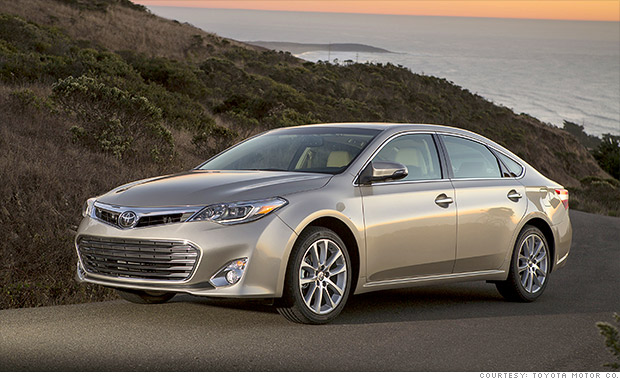 full size car toyota avalon   best resale value cars   cnnmoney