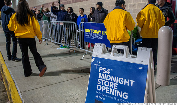 playstation 4 lines
