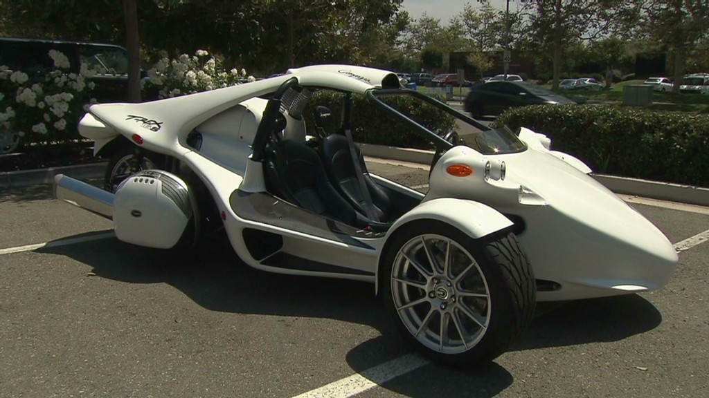 Zoom around in this motorcycle-meets-car