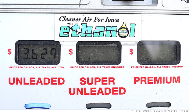 EPA proposes cut to ethanol requirement for gasoline